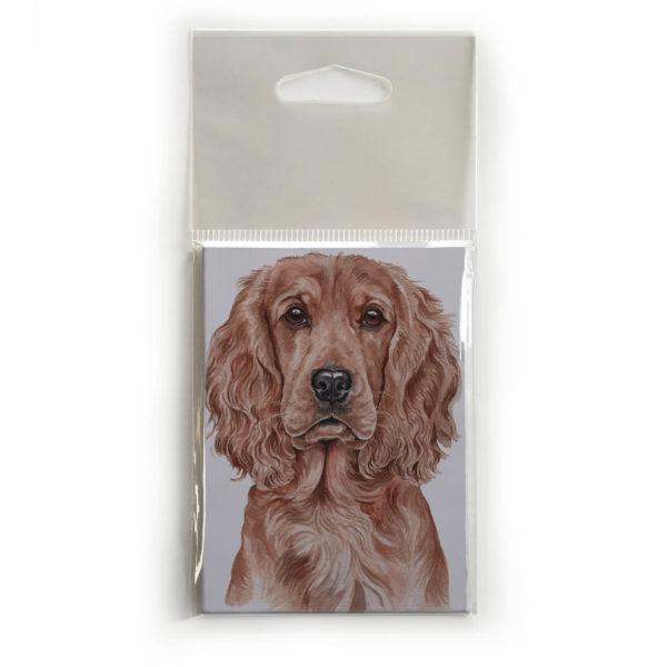 Fridge Magnet Dog Breed Gift featuring Cocker Spaniel