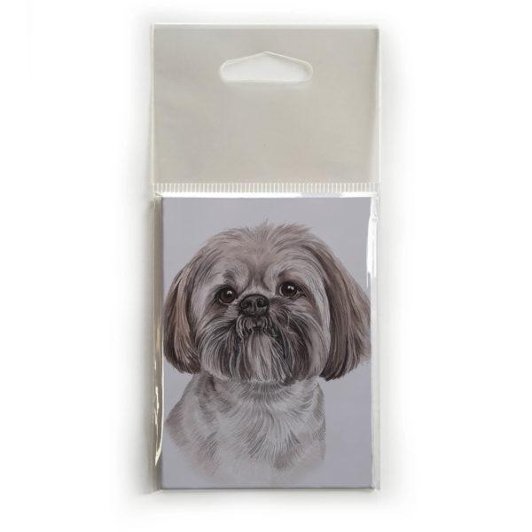 Fridge Magnet Dog Breed Gift featuring Lhasa Apso