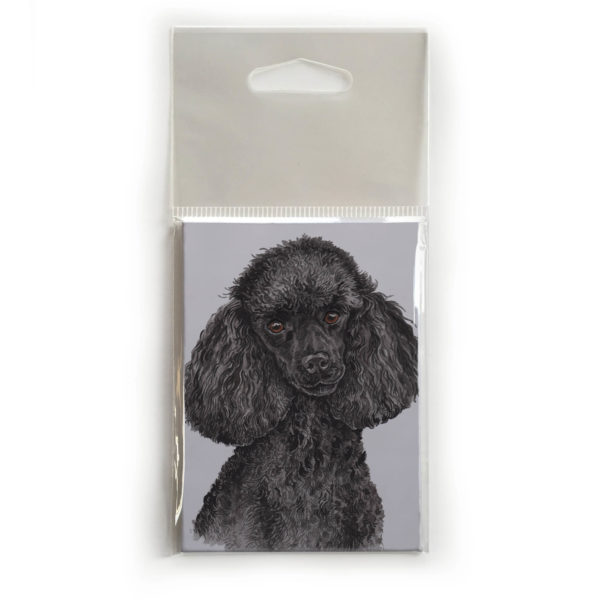 Fridge Magnet Dog Breed Gift featuring Miniature Poodle