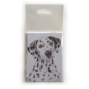 Fridge Magnet Dog Breed Gift featuring Dalmatian