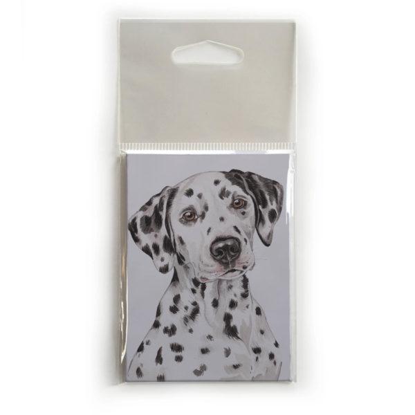 Fridge Magnet Dog Breed Gift featuring Dalmatian