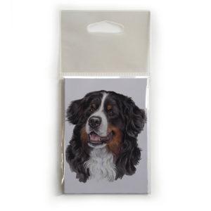 Fridge Magnet Dog Breed Gift featuring Bernese Mountain Dog