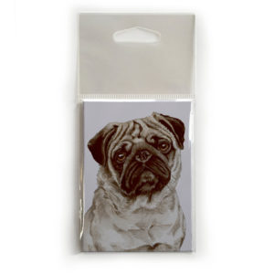 Fridge Magnet Dog Breed Gift featuring Pug