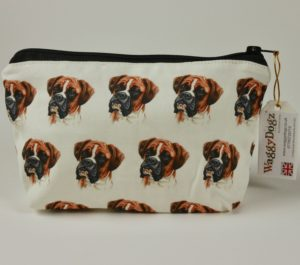 Boxer  Dog Makeup Bags MBG-03