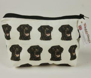 Black Labrador  Dog Makeup Bags MBG-125