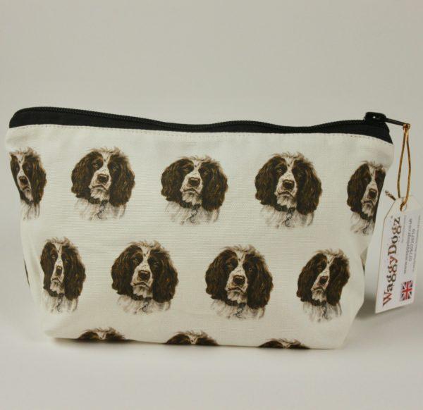 Springer Spaniel  Dog Makeup Bags MBG-140