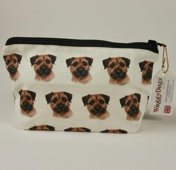 Border Terrier  Dog Makeup Bags MBG-167