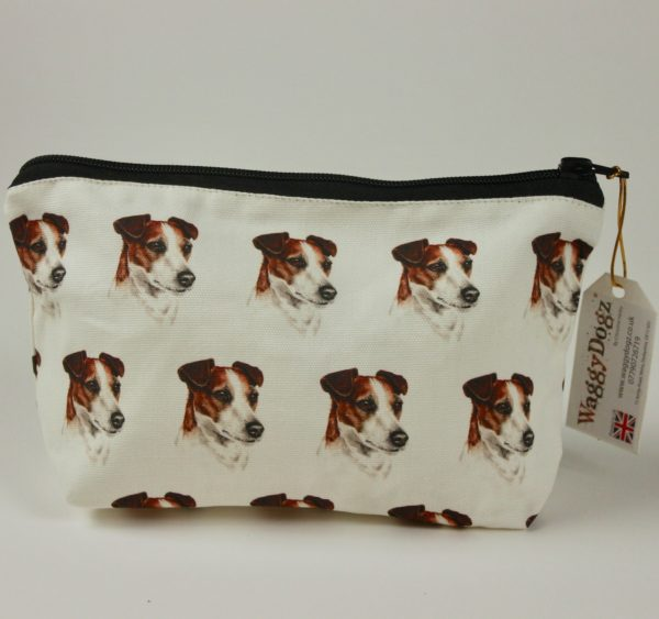 Jack Russell  Dog Makeup Bags MBG-213