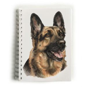 German Shepherd Notebook