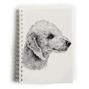 Bedlington Terrier Notebook