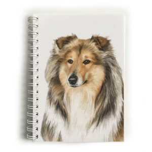 Rough Collie Notebook