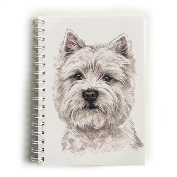 West Highland Terrier Notebook