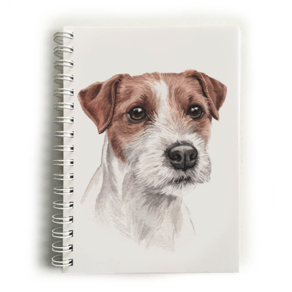 Parson Jack Russell Notebook