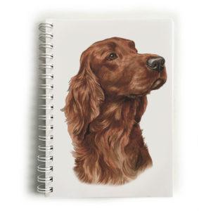 Irish Setter Notebook