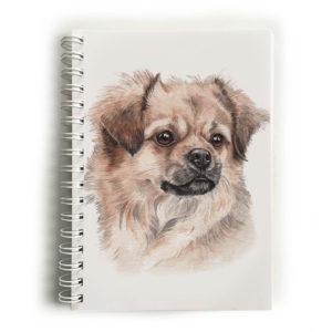 Tibetan Spaniel Notebook