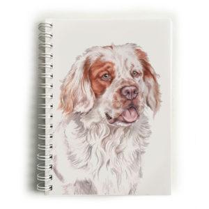 Clumber Spaniel Notebook