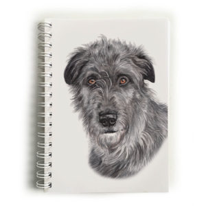 Irish Wolfhound Notebook