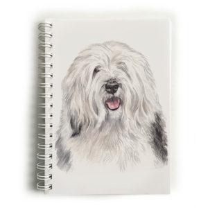 Old English Sheepdog Notebook