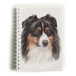 Australian Shepherd Notebook