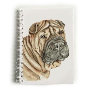 Shar Pei Notebook