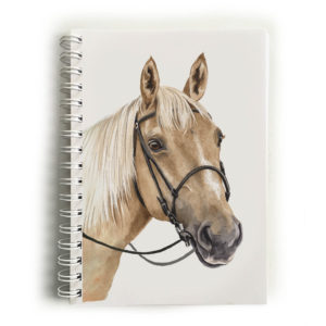 Palomino Horse Notebook
