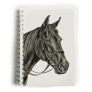 Black Horse Notebook