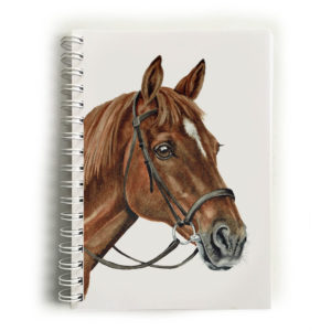 Chestnut Horse Notebook
