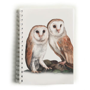 Barn Owl Pair Notebook
