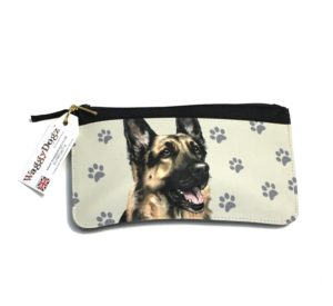 German Shepherd Dog Pencil Case Pouch Purse
