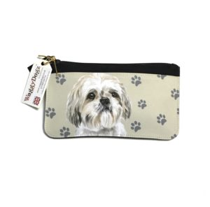 Shih Tzu Dog Pencil Case Pouch Purse