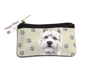 West Highland Terrier Dog Pencil Case Pouch Purse