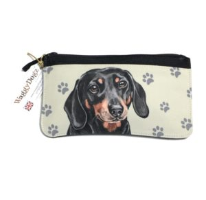 Dachshund Dog Pencil Case Pouch Purse