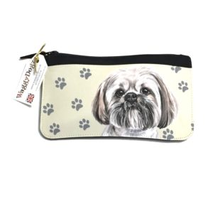 Llasa Apso Dog Pencil Case Pouch Purse