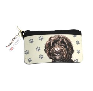 Cockapoo Dog Pencil Case Pouch Purse