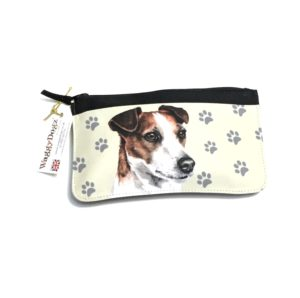 Jack Russell Dog Pencil Case Pouch Purse