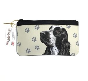 Cocker Spaniel Dog Pencil Case Pouch Purse