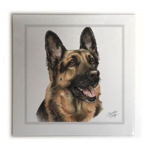 German Shepherd Dog Picture / Print