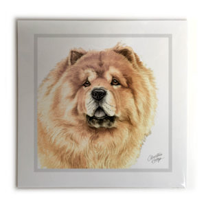 Chow Chow Dog Picture / Print
