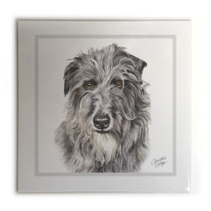 Deerhound Dog Picture / Print