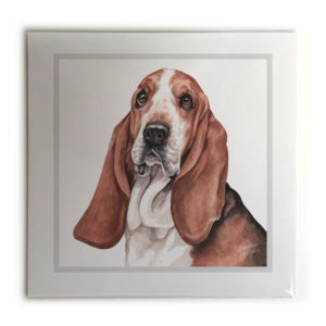Basset Hound Dog Picture / Print