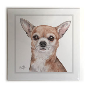 Chihuahua Dog Picture / Print
