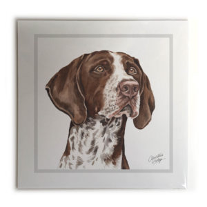 German Shorthaired Pointer Dog Picture / Print