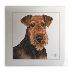 Airedale Terrier Dog Picture / Print