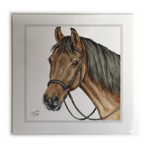 Bay Horse Picture / Print