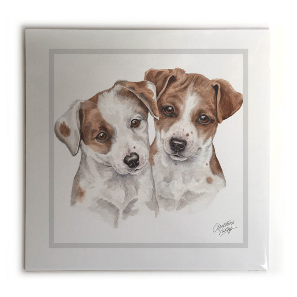 Jack Russell Puppies Dog Picture / Print
