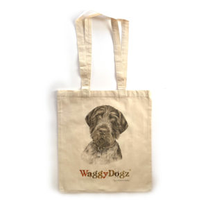 German Wire-haired Pointer Tote Bag