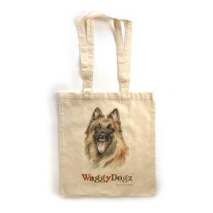 Belgian Shepherd Tote Bag