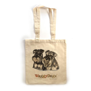 Miniature Schnauzer Pair Tote Bag
