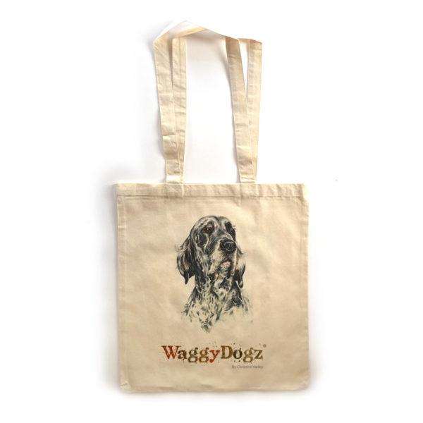 English Setter Tote Bag