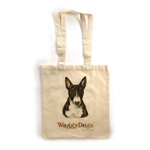 English Bull Terrier Tote Bag